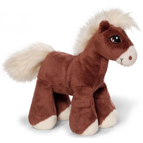 c46fe99e0ade1f Speelgoed knuffel paardje bruin 15 cm bij Speelgoed voordeel, altijd ...